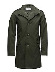 Coats woven - KHAKI GREEN
