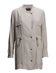 Coats woven - CONE BEIGE