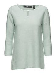 Sweaters - LIGHT AQUA GREEN 5