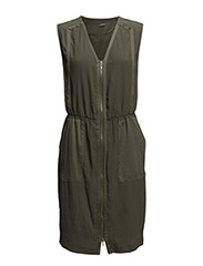 Dresses light woven - URBAN OLIVE