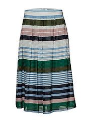 Skirts light woven - BLUE