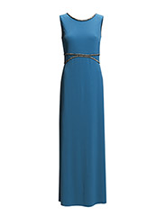 Dresses knitted - DARK TURQUOISE