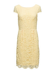 Dresses light woven - LIGHT YELLOW