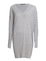 Dresses flat knitted - SPORTY GREY MELANGE