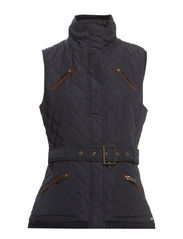 Vests outdoor woven - CINDER BLUE