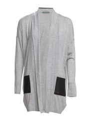 Sweaters cardigan - SPORTY GREY MELANGE