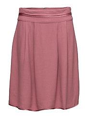 Skirts light woven - DARK OLD PINK