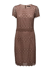 Dresses light woven - DARK OLD PINK 3