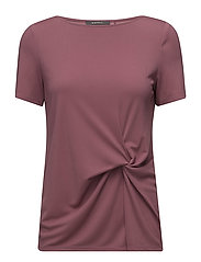 Blouses woven - DARK OLD PINK