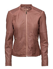 Jackets outdoor leather - BLUSH