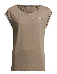 T-Shirts - HUSKY BEIGE MELANGE