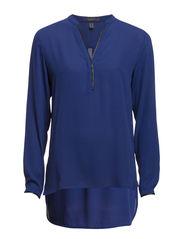 Blouses woven - DRAGON BLUE