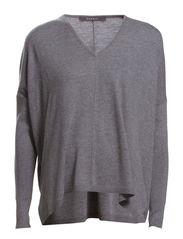 Sweaters - FOGGY GREY MELANGE