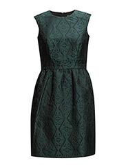 Dresses light woven - DARK TEAL GREEN 2