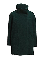 Coats woven - BOTTLE GREEN