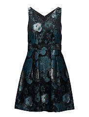 Dresses woven - DARK TEAL GREEN 2