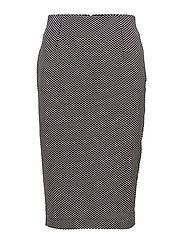 Skirts knitted - BLACK