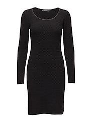 Dresses flat knitted - BLACK