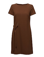 Dresses woven - BROWN