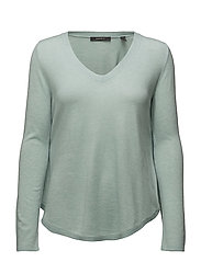Sweaters - LIGHT AQUA GREEN 5