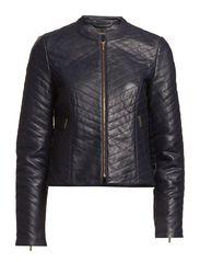Jackets indoor leather - CINDER BLUE
