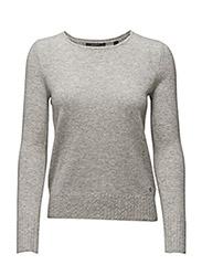 Sweaters - LIGHT GREY 5