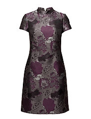 Dresses woven - DARK PURPLE 2