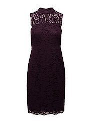 Dresses light woven - DARK PURPLE