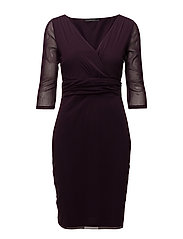 Dresses knitted - DARK PURPLE