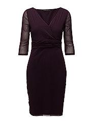 Dresses knitted - DARK PURPLE