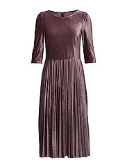 Dresses knitted - AUBERGINE