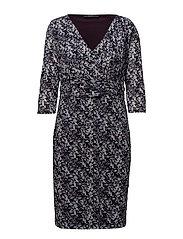 Dresses knitted - DARK PURPLE 2