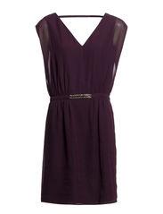 Dresses woven - DEEP PLUM