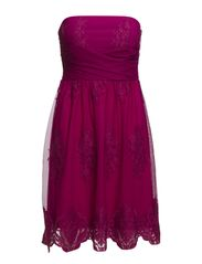 Dresses knitted - BRIGHT MAGENTA
