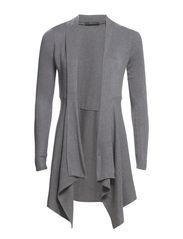 Sweaters cardigan - COSY GREY MELANGE