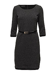Dresses knitted - GUNMETAL