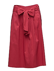 Skirts light woven - BERRY RED
