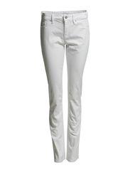 Pants denim - E SPRING WHITE