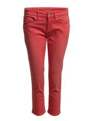 Pants denim - VERMILLION RED