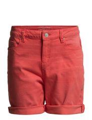 Shorts denim - VERMILLION RED