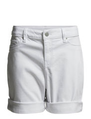 Shorts denim - WHITE
