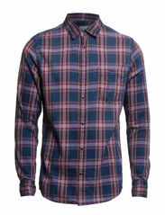Shirts denim - E RUST CHECK