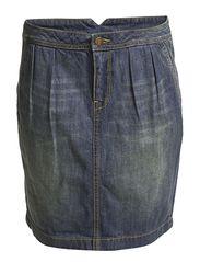 Denim Skirts - MISTY BLUE