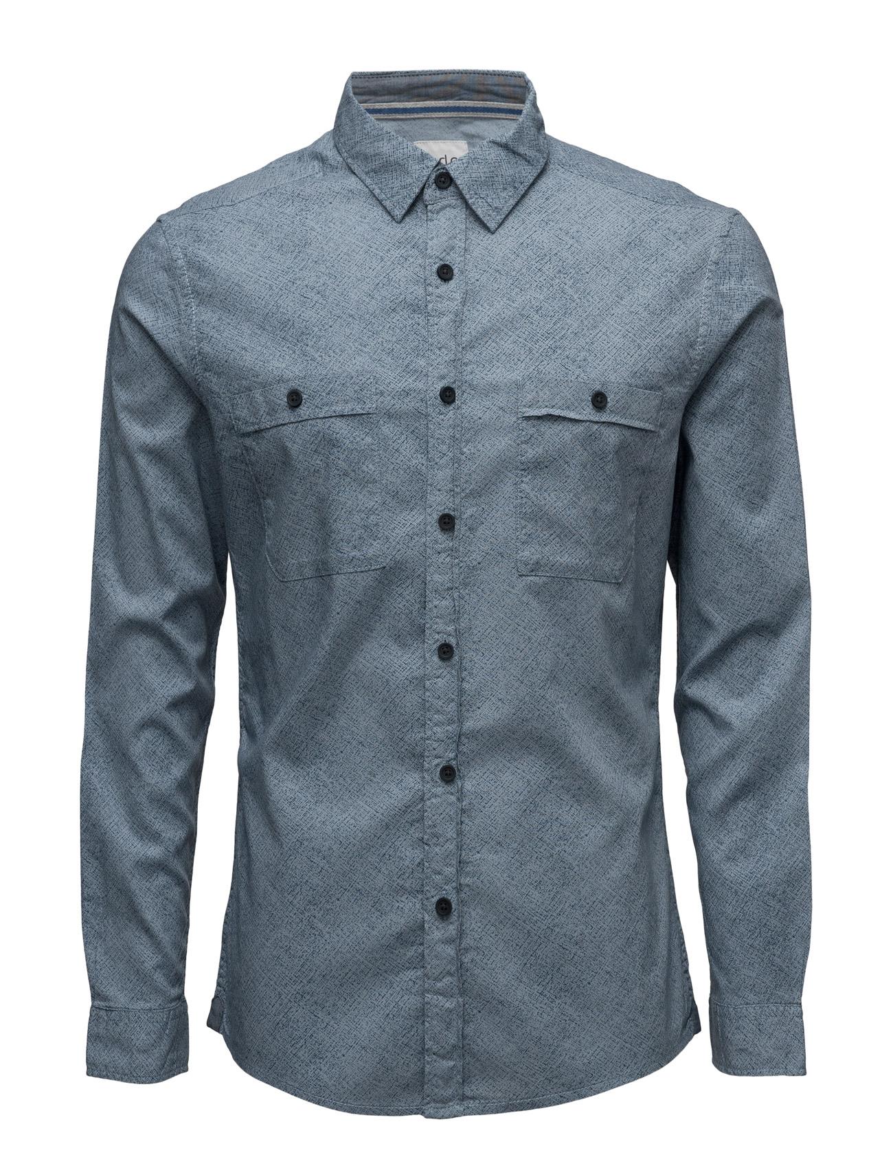 Shirts Woven EDC by Esprit Casual sko til Mænd i Lyseblå