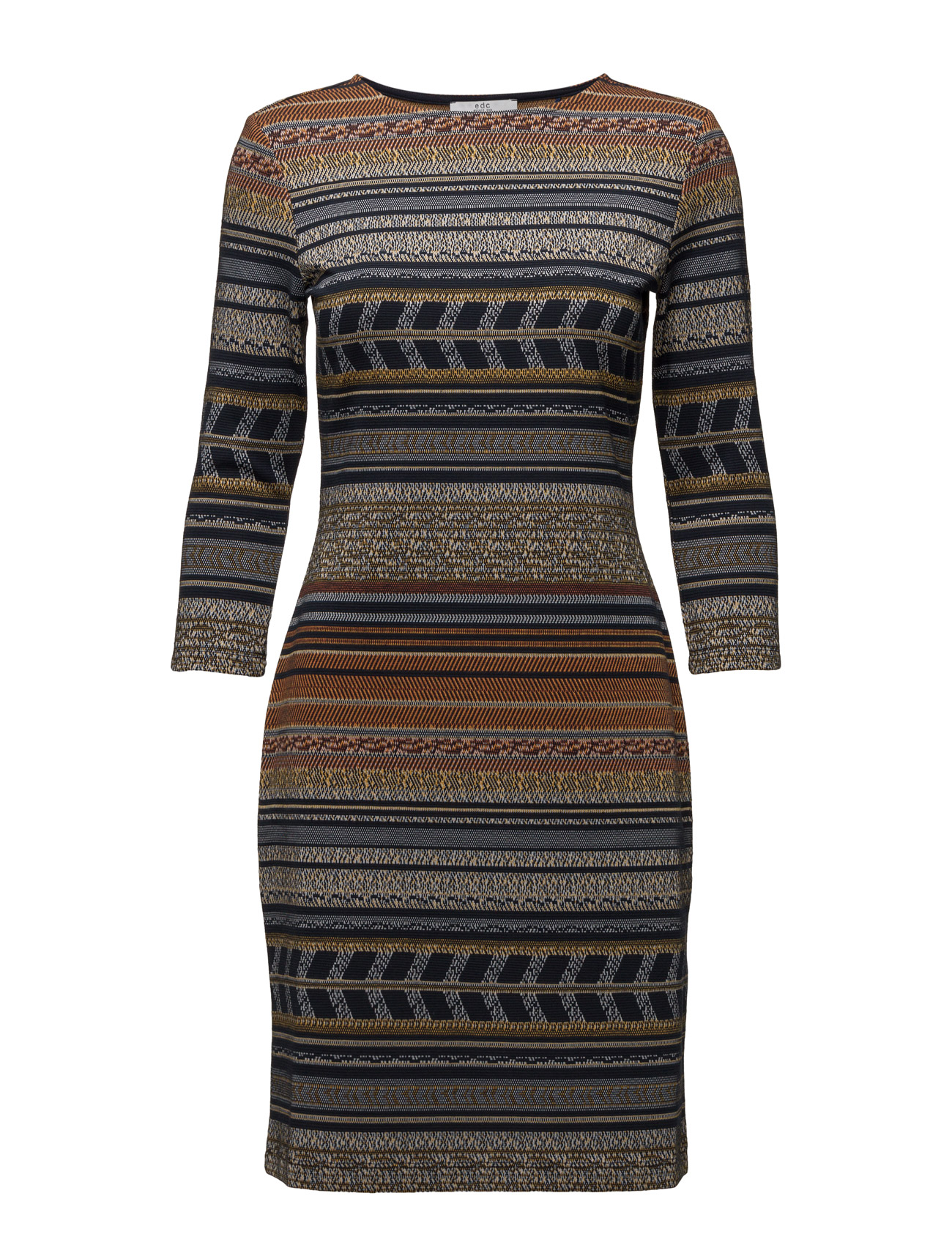 Dresses Knitted EDC by Esprit Korte kjoler til Damer i Navy blå