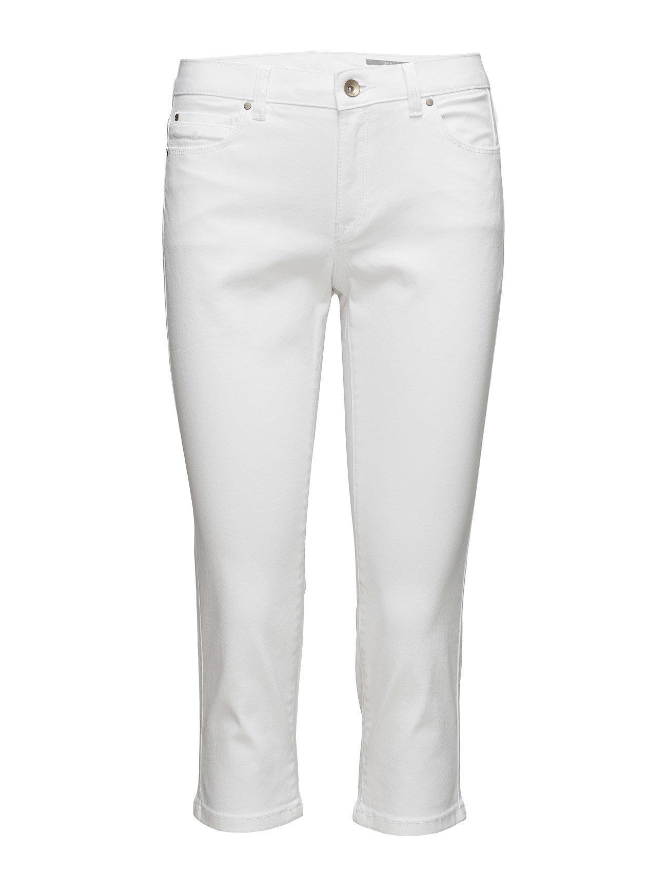 Pants Woven EDC by Esprit Skinny til Damer i hvid