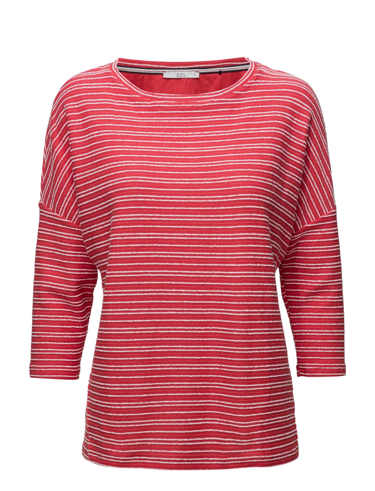 Sweatshirts EDC by Esprit  til Damer i Rød