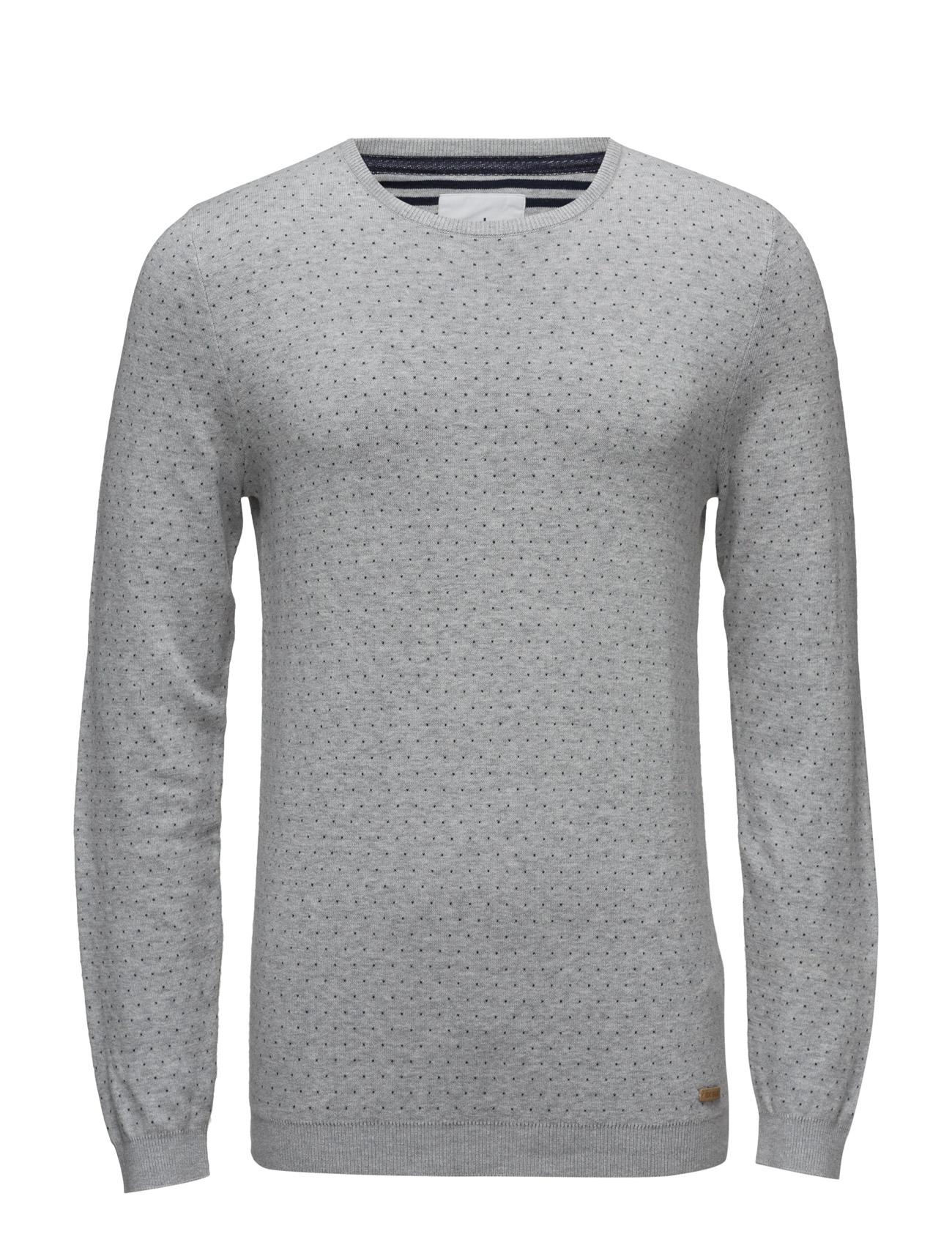 Sweaters EDC by Esprit Striktøj til Mænd i Lysegrå