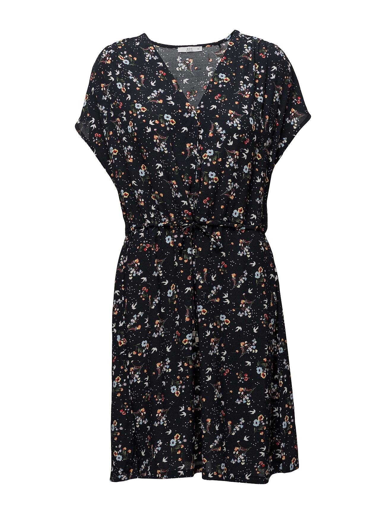 Dresses Light Woven EDC by Esprit Kjoler til Kvinder i Blæk