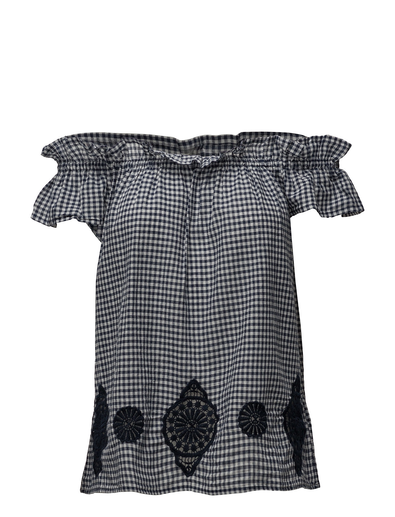 e60d38d6e6a1 Bestil Blouses Woven EDC by Esprit Kortærmede i Off White til Damer i en  online fashion store